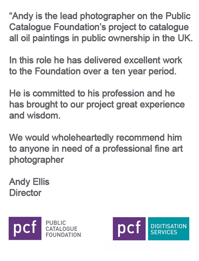 PUBLIC CATALOGUE FOUNDATION TESTIMONIAL